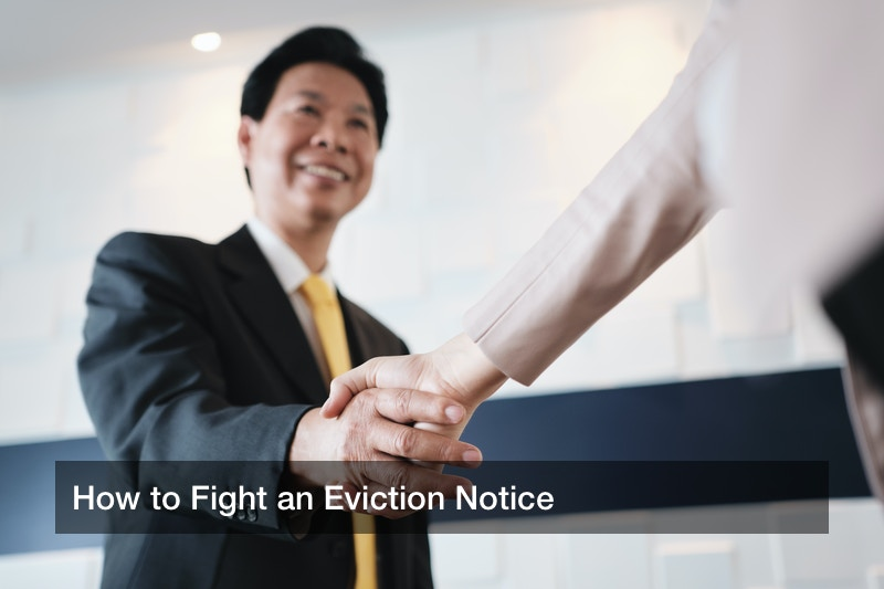 How to Fight an Eviction Notice