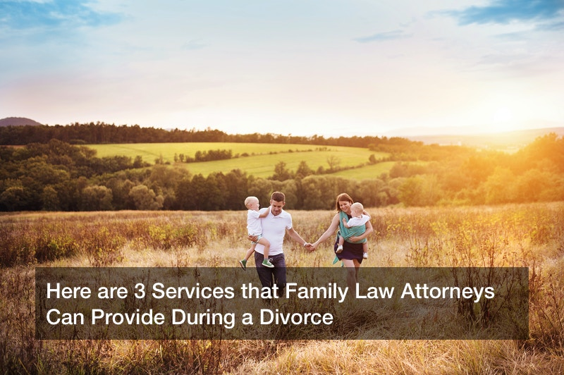 Here are 3 Services that Family Law Attorneys Can Provide During a Divorce