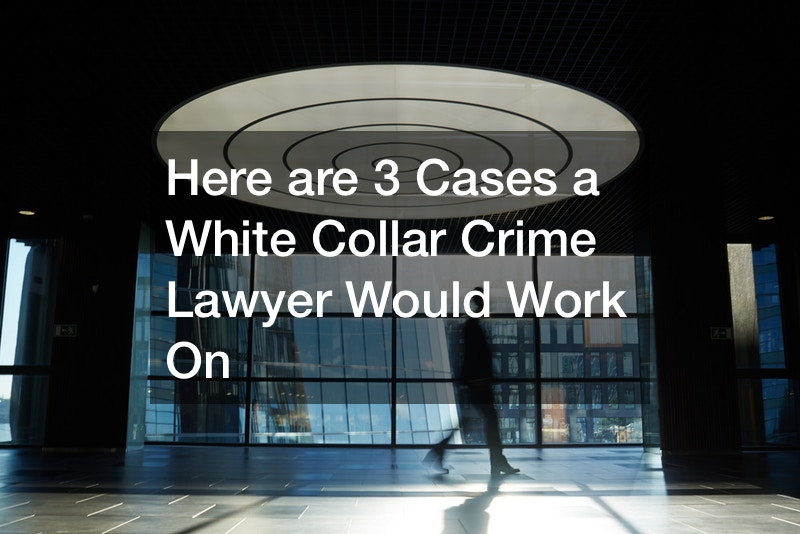 Here are 3 Cases a White Collar Crime Lawyer Would Work On